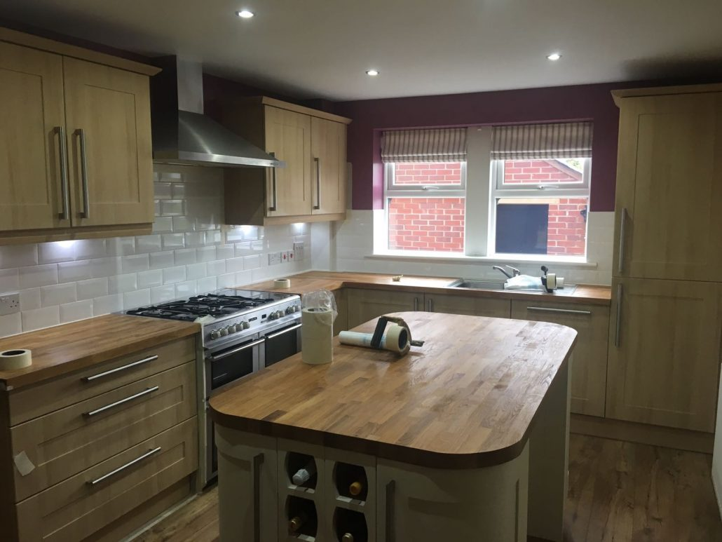 Technique Coatings Kitchen Cupboards Respray Oldham Springhead
