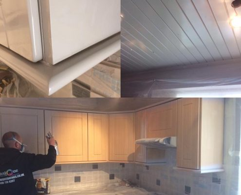 Kitchen spraying in Manchester