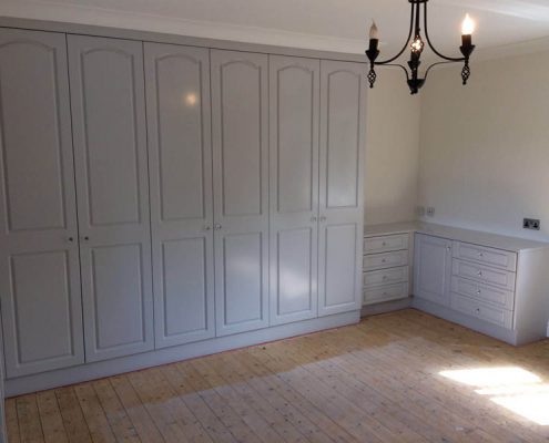 Respraying fitted wardrobes Manchester
