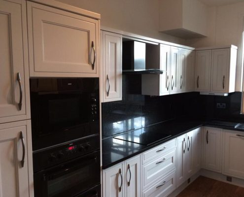full kitchen respray to kitchen in Manchester