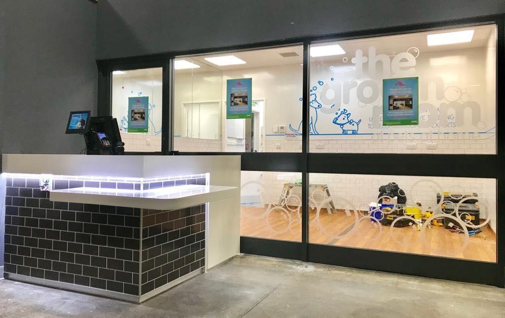 shop front respray pets at home