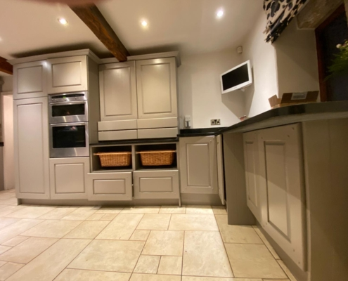 Diggle kitchen respray Oldham